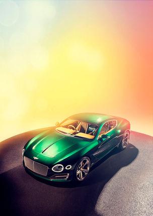 JAMES LIPMAN : Bentley EXP10 Speed 6 for Top Gear magazine