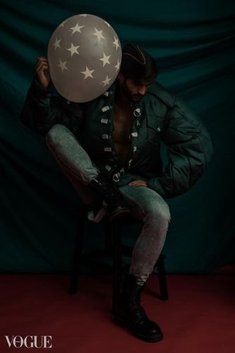 CALI WHITE in WAR HERO for VOGUE ITALIA by EVANGELOS RODOULIS