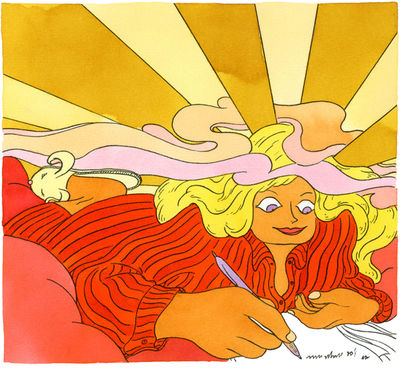 GoSeeAWARDS15 - ILLUSTRATION SILVER FOR ELLEN VAN ENGELEN