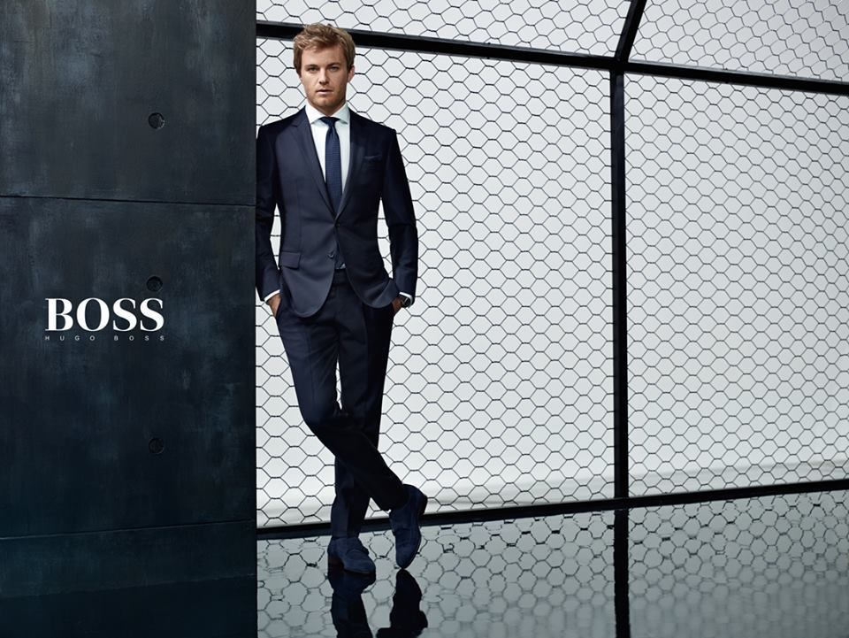 HUNTER & GATTI : Formula 1 World Drivers' Champions Lewis Hamilton and Nico Rosberg for HUGO BOSS Mercedes-Benz campaign