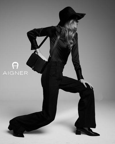 ANDREAS ORTNER : Kim Riekenberg for AIGNER F/W 2020