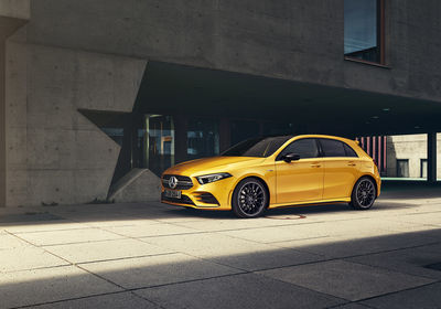 MIERSWA-KLUSKA - personal automotive lifestyle projekt with AMG A-class
