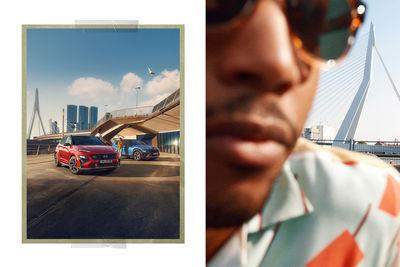 Ben And Martin a.k.a. BAM fotografieren die neue eSUV Kampagne für Hyundai & Innocean Berlin in Rotterdam