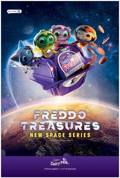 JSR AGENCY Cadbury Freddo Treasures: Space Series