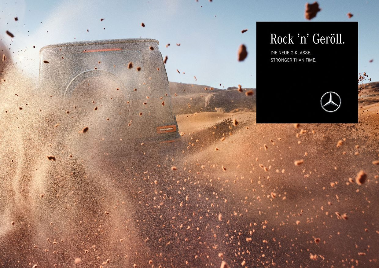 MARKUS WENDLER for Mercedes-Benz G-Class