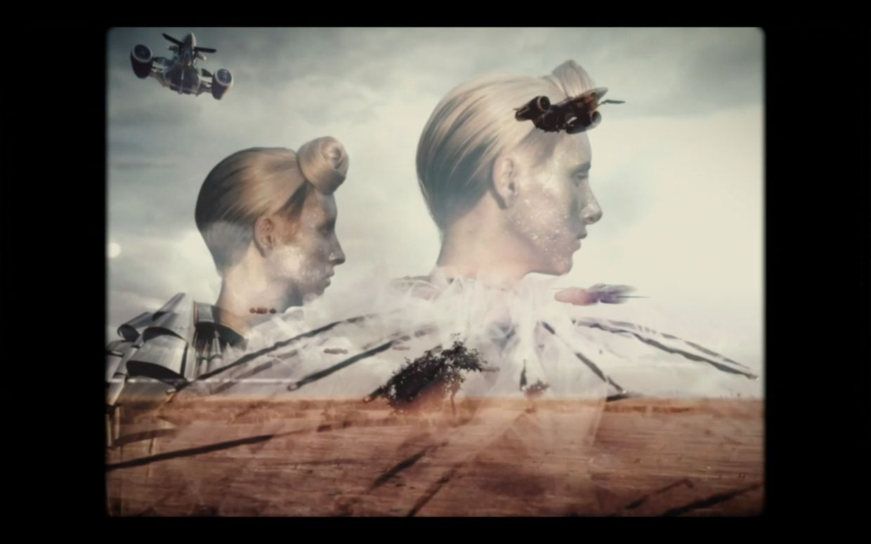 OFFENBLENDE: The X Files - a Fashion Film Project
