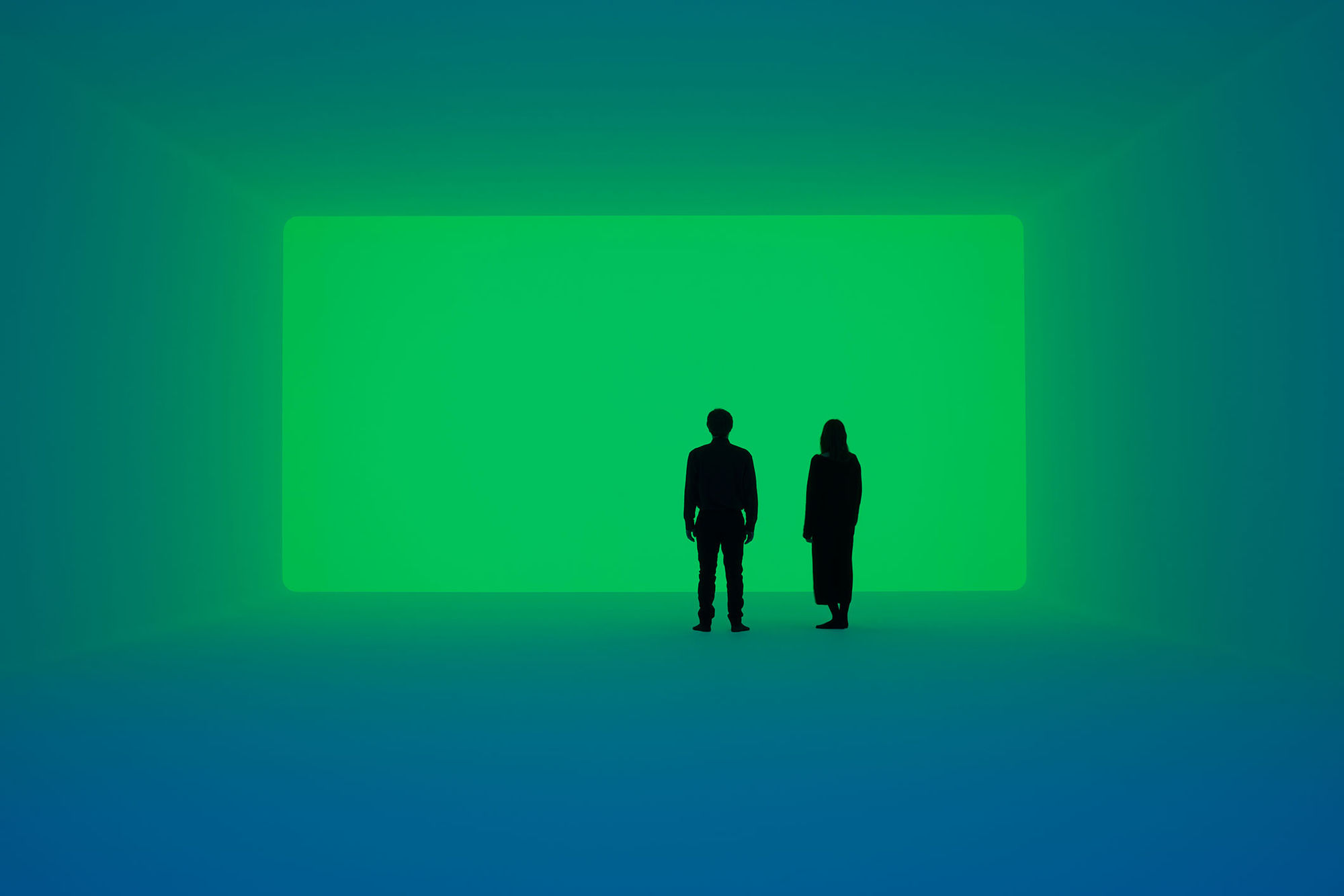 """Ganzfeld """"Aural"""": An Installation by James Turrell (12 April 2018 to 30 September 2019)"""