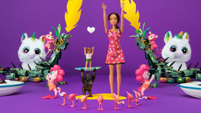 COSMOPOLA Artist CRIS WIEGANDT directed and animated the TVC for Intertoys