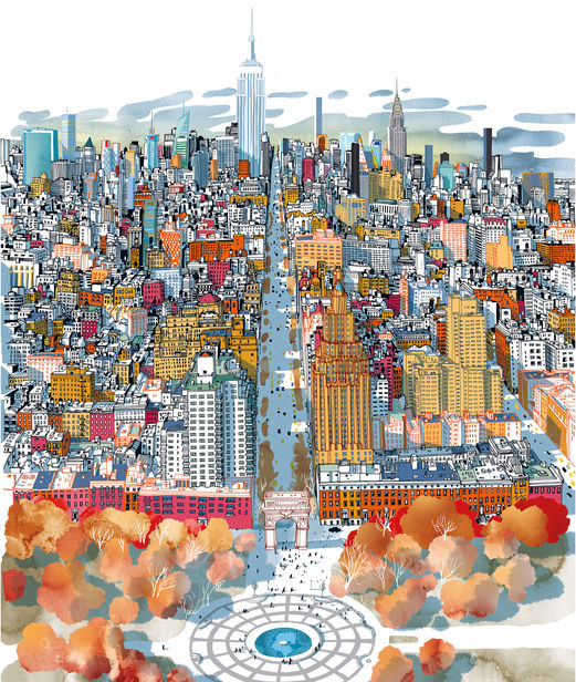 'I AM NEW YORK' by Carlo Stanga c/o 2AGENTEN (MOLESKINE, PICTURE BOOK)