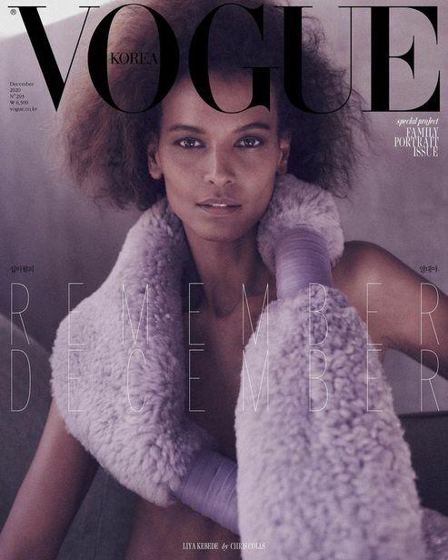 ICONIC : Liya Kebede for Vogue Korea December 2020