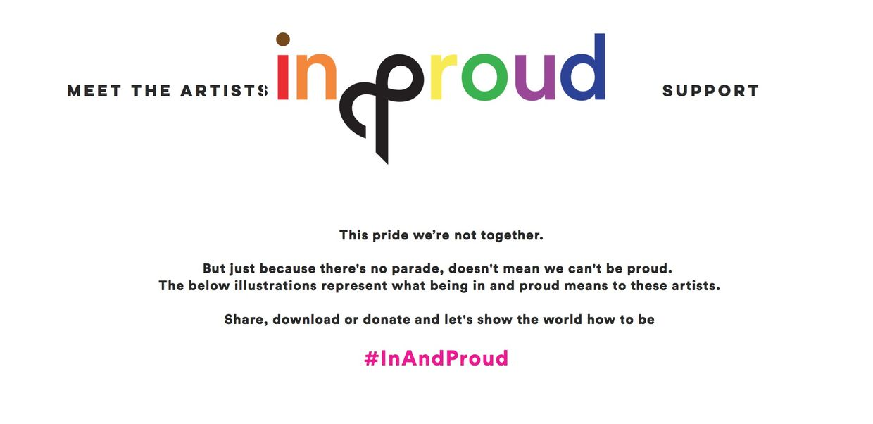 WILDFOX RUNNING for ddbUK for #inandproud campaign