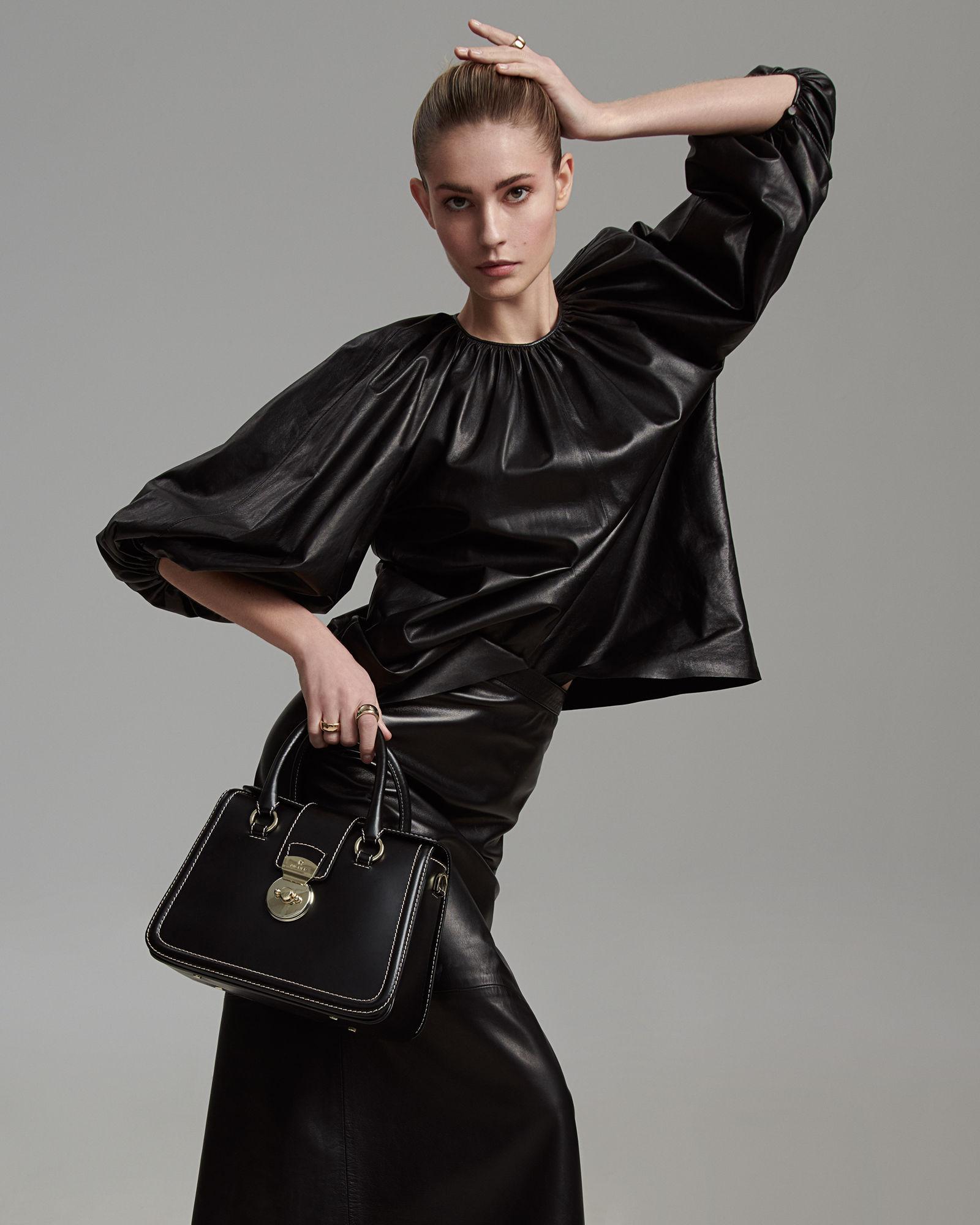 ANDREAS ORTNER : Top Model Nadja Bender for ELLE Germany