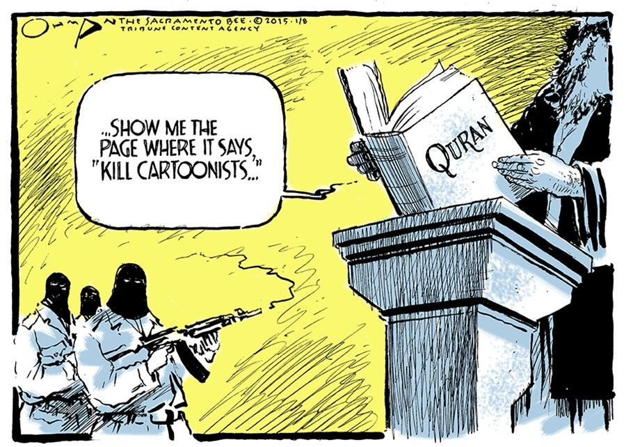 Sacramento Bee editorial cartoonist Jack Ohman was awarded the 2016 Pulitzer Prize (Editorial Cartooning)
