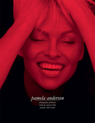 GLAMPR: Pamela Anderson for SCHOEN MAGAZINE