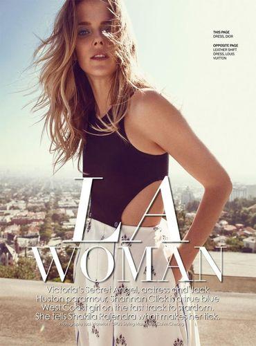 LA Woman for Marie Claire Malaysia