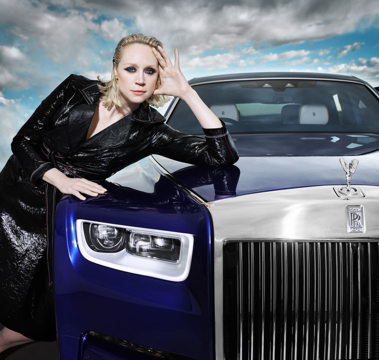 ROLLS-ROYCE PHANTOM SHOT BY BRITISH PHOTOGRAPHER RANKIN - Game of Thrones star Gwendoline Christie features alongside Phantom in short film