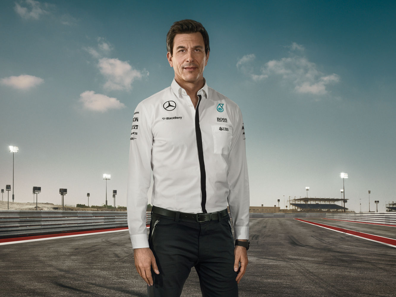 ANKE LUCKMANN for MERCEDES-BENZ F1