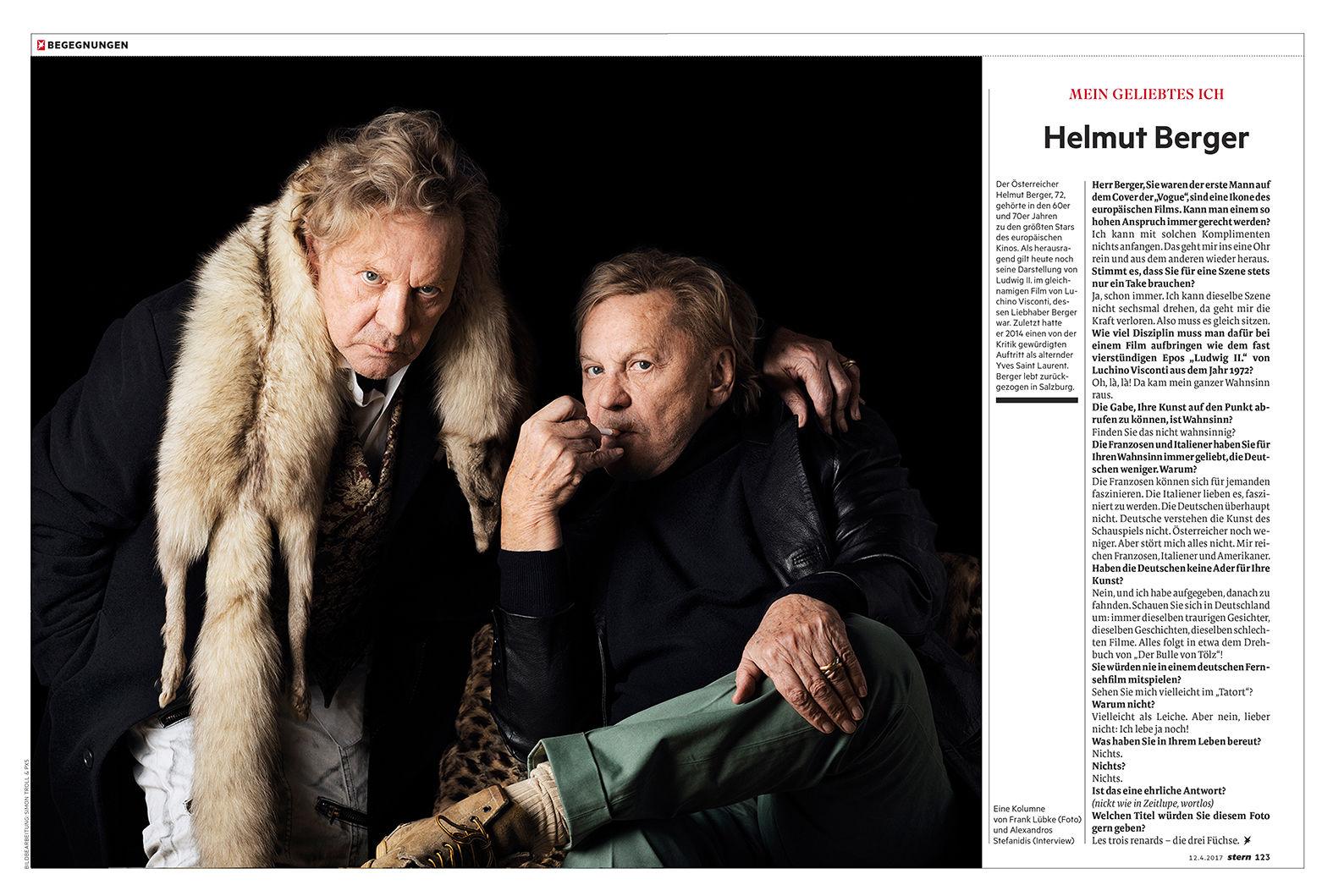 Mein geliebtes Ich / Helmut Berger