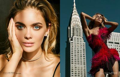 Megan Williams für Modeliste shot by Bryce Thompson