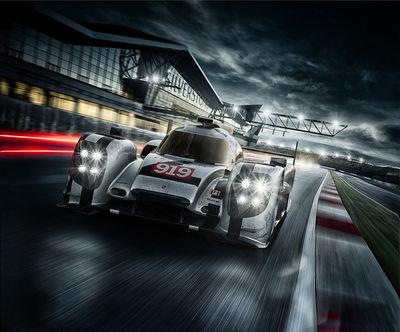 FRANK KAYSER for Porsche WEC Image Campain
