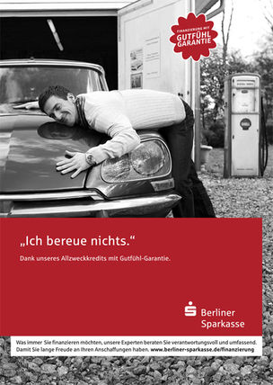 DARIUS RAMAZANI for BERLINER SPARKASSE