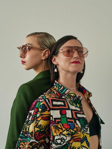 WILDFOX RUNNING: Ansgar Sollmann for Blonde Magazine with Cahrlotte & Polly Roche