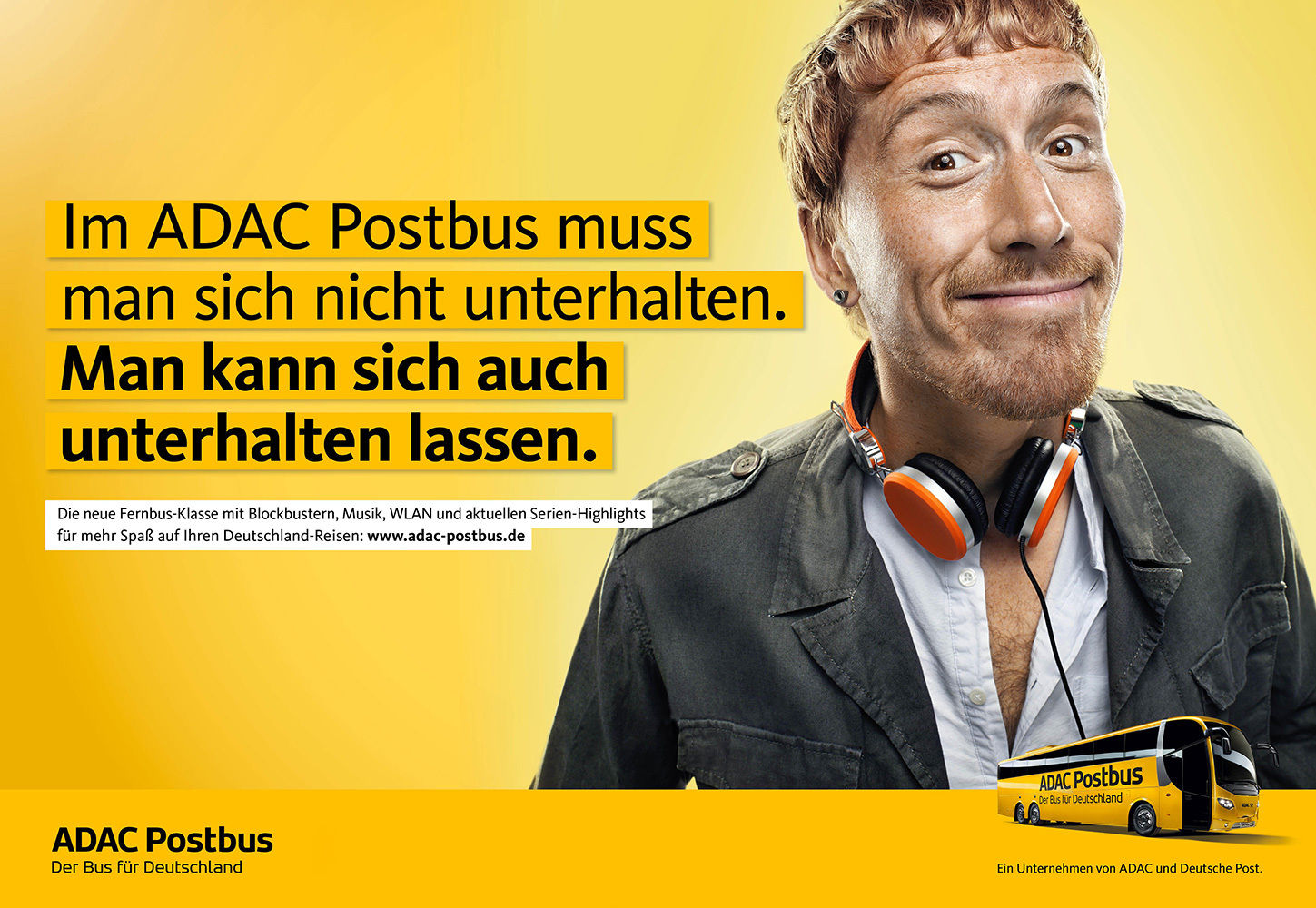 ANKE LUCKMANN for ADAC POSTBUS