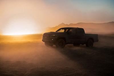 SEVERIN WENDELER: Toyota Tacoma TRD Pro - Photography by Lisa Linke c/o Severin Wendeler