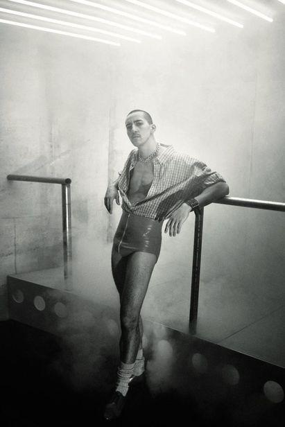 VIVA MODELS: Amine Boutagouga for Vogue Germany May 2019