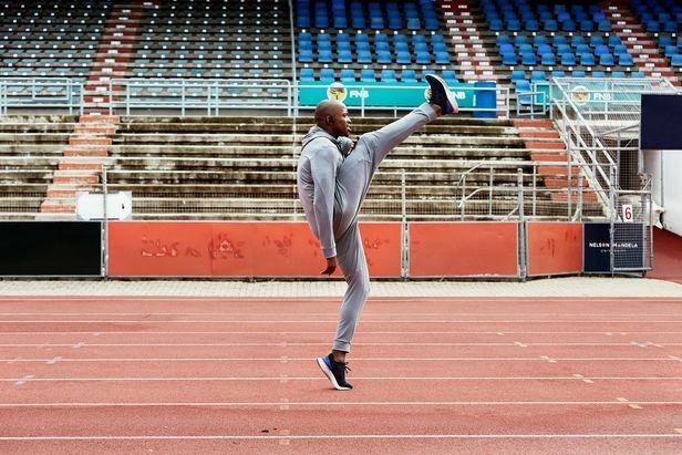EMEIS DEUBEL: Richard Johnson shoots olympic athlete Luvo Manyonga