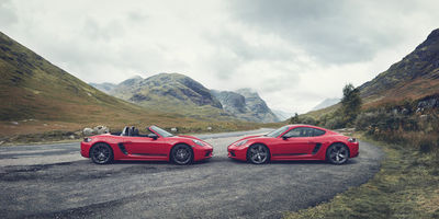 STEFAN EISELE POSTPRODUCTION : Worldwide launch Campaign of the all new Porsche 718T shot in the Scottish Highlands