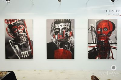 "HUNTER & GATTI's ""I Will Make You A Star"" Opening at Wynwood Art Group"