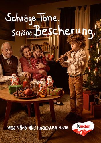 Ferrero Kinderschokolade Xmas Campaign by Achim Lippoth