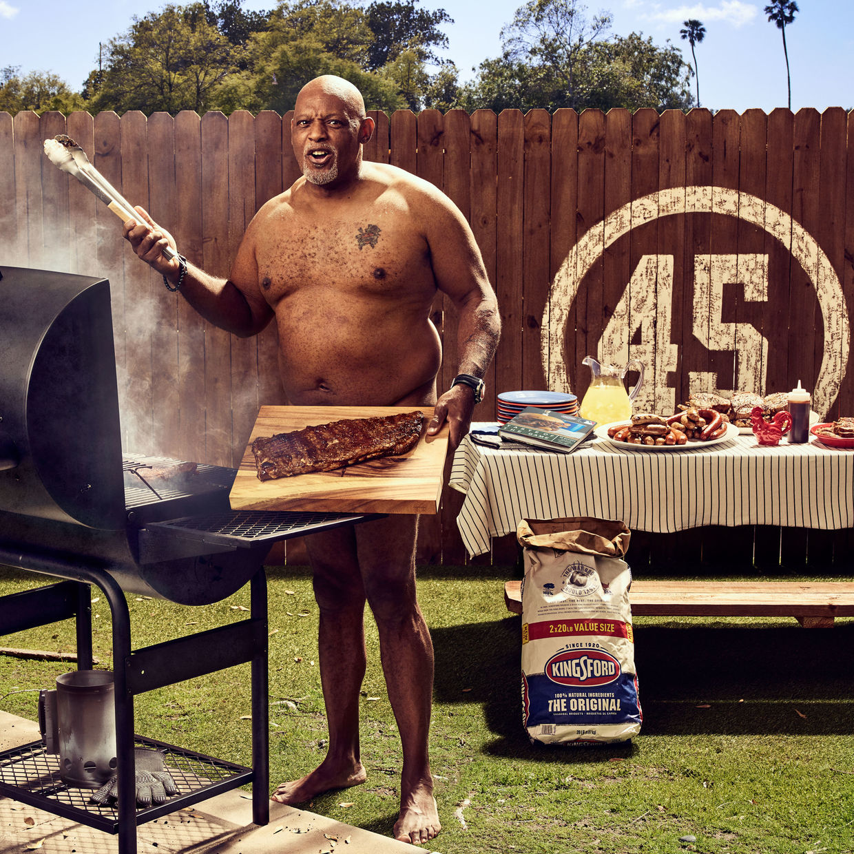 ART STREIBER c/o GIANT ARTISTS for KINGSFORD CHARCOAL