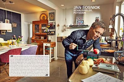 """Jan Sosniok by Frank P. Wartenberg für """"Der Feinschmecker - Meine Küche & ich"""""""