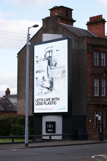 LET'S LIVE WITH LESS PLASTIC, THE ART EXHIBIT