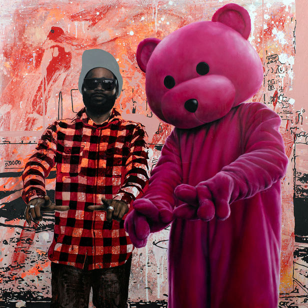 GoSee : Paul Robinson, known professionally as LUAP depicts a pink teddy bear come-to-life and placed in the real world acting as a metaphor for discovery and exploration