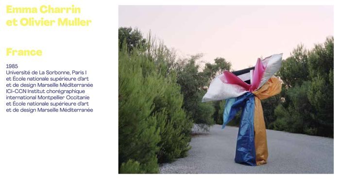 Finalist of the category PHOTOGRAPHY - HYÈRES FESTIVAL 2021