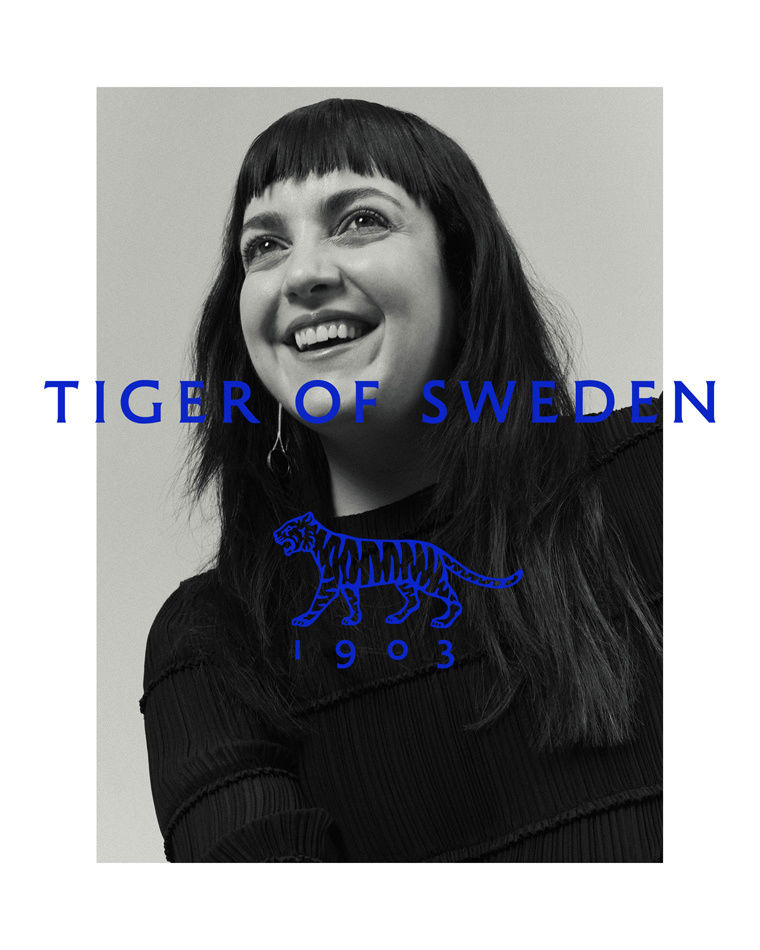 KLAUS STIEGEMEYER: Jana Gerberding for Tiger of Sweden