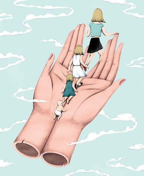 COSMOPOLA    Illustration Artist Andrea Wan - New York Times Magazine - Raising Teenagers