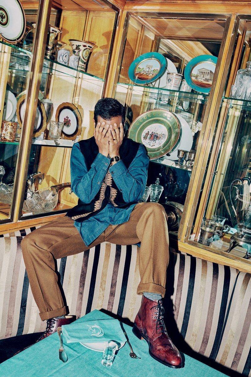 PRODUCTION BERLIN - Aziz Ansari for GQ Style - Paris Fashion Week