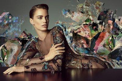 Rianne Ten Haken for Rabat Jewels, Make-Up by Louisa Artist Katharina Nitzpon