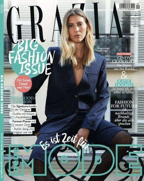 BIRGIT STÖVER ARTISTS WENDELIN SPIESS for GRAZIA MAGAZINE