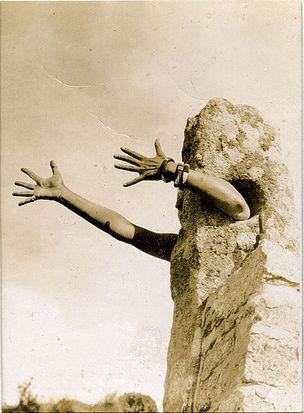 DIE ANDERE SEITE DES MONDES : Claude Cahun, Autoportrait, 1933, 10,8 x 8 cm, Collection David et Marcel Fleiss, Galerie 1900-2000, Paris, © Jersey Heritage Trust