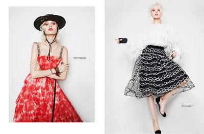 BIGOUDI Anja Fichtenmayer und Yvonne Wengler für Elle Slovenia