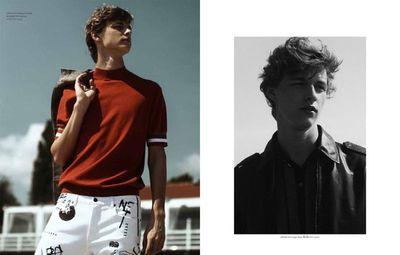 Max Barczak for ELLE MEN Thailand