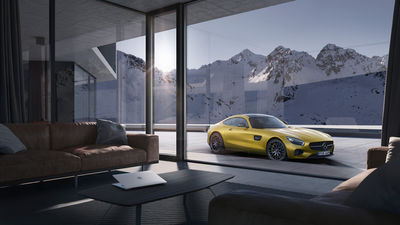 Mercedes AMG GT by Punctum Images