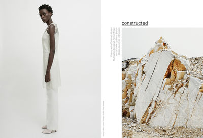 CHRISTOPH MUSIOL - CONSTRUCTED featuring Model Aketch