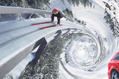 Audi Quattro Winter Campaign MAKING OF