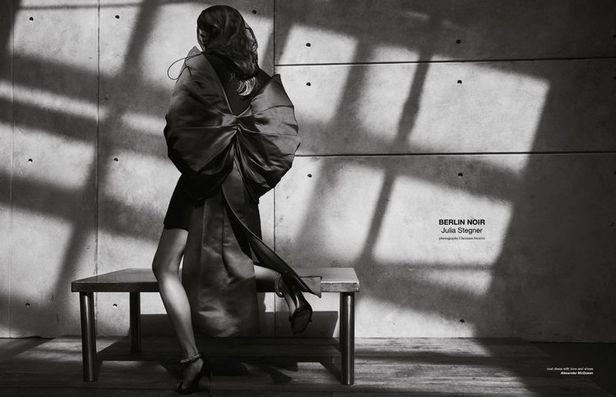 JULIA STEGNER for Zoo Magazine shot by Christian Ferretti